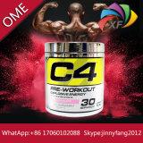 C4 de la bomba de la creatina en polvo Pre-Workout N Agregar Fitness muscular