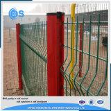 Cercas galvanizadas cubiertas PVC del panel de acoplamiento soldado 3D