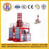 Élévateur de construction du matériel de levage Sc100/100 avec Ce/SGS