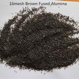 Le sablage Oxyde d'aluminium/marron de l'alumine fondue/matériau abrasif