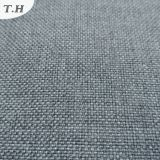 El lino llano mira la tela del sofá de Brown (FTD31001)