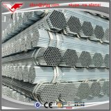 GB/T3091 un revestimiento de zinc galvanizado en caliente Postes de tubo de acero al carbono de 3pulg.