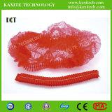 처분할 수 있는 부직포 두 배 탄력 있는 방진 의학 군중 모자 Kxt-Nwc24