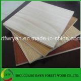 das 16mm Melamin-Papier stellte Möbel-Grad-Furnierholz gegenüber