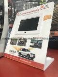 Concevoir l'étalage 10inch acrylique annonçant les bâtis de photo numérique (HB-DPF1002)