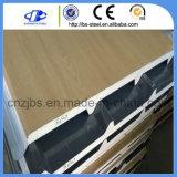Revestimiento de madera de pared barato de madera de Lowes del panel de pared de la cámara fría de la impresión