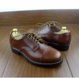 Weiche lederne Kleidmens-Oxford-Schuhe
