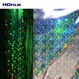 試供品のホログラフィック冷たいラミネーションのフィルムの車の覆いのビニールのためのホログラフィック虹のフィルムホイル