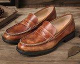 Pisos de cuero de hombre manejando los mocasines Tassel Mens zapatos casuales de cuero