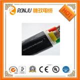 Fumo e o halogênio da isolação de alumínio do núcleo XLPE o baixo inflamam livre - o cabo distribuidor de corrente retardador