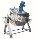 Jarro com camisa de aço inoxidável Panela a vapor do Potenciômetro da Jaqueta Máquina alimentar
