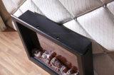 Base eléctrica de los muebles LED del hotel de la chimenea del MDF con el Ce (T-301)
