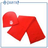 Chapeau d'écharpe de Knit et jeu faits sur commande de gant