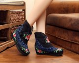 Chinese Fashion Style Mesdames broderie Chaussures Chaussures confort