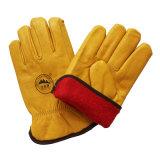 Кожаный чехол из натуральной кожи для зерна Cowhide безопасности движения рабочие перчатки