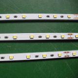 Le mensole con la striscia di illuminazione LED 3014 SMD degli indicatori luminosi 24V riparata con il tubo del Governo della clip illumina l'illuminazione del LED