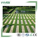 Moquette verde mela artificiale falsa naturale del prato inglese del tappeto erboso dell'erba per il balcone