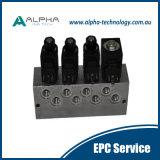 Sistema teledirigido modificado para requisitos particulares de la radio del cargador de LHD