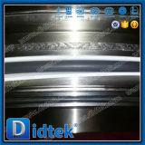 Anticorrosión completamente soldada de la vávula de bola del material del fabricante Lf2 de Didtek