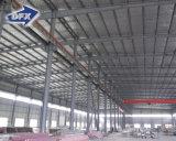 Magazzino prefabbricato d'acciaio della costruzione della struttura d'acciaio del blocco per grafici dello spazio di fabbricazione di Qingdao