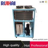 pompa de calor refrigerada 10pH usada para el drenaje del agua de enfriamiento de la ingeniería del agua destilada