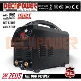 L'America 110V/220V standard si raddoppia saldatrice dell'invertitore MMA di tensione (ZEUS-120X)