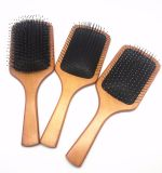 Professional Usage를 위한 멧돼지 Bristle Wooden Brush