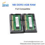 RAM de 512MB*8 8IC PC3-10600 DDR3 4GB pour l'ordinateur portatif