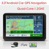 """5.0""""емкостные сенсорные Car погрузчик морской навигации GPS с помощью GPS навигатор Wince, Bluetooth, FM-передатчик, AV-в камеру заднего вида, ручной система навигации GPS"""