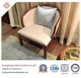 Absatzfähige Hotel-Möbel mit rundem Gewebe-Lehnsessel (YB-O-17)