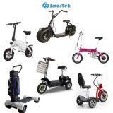Smartek 4 КОЛЕСА С ЭЛЕКТРОПРИВОДОМ СКЛАДЫВАНИЯ велосипеда ЕС пробку велосипед для молодых S-013-3