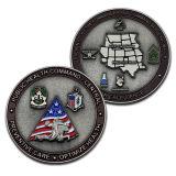 Promoción de alta calidad de metal barato solo en 3D personalizadas Memorabilia Memento Coin