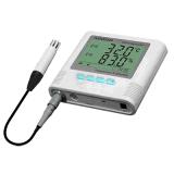 A2000-EX 디지털 소리 & 빛 경보 Hygro 온도계
