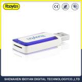 Carde Mini USB con lector de CF/TF/SD/XD