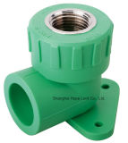 Beautiful Shape plastic Connectors 50mm 90 Elbow PPR beeps to pipe fittings