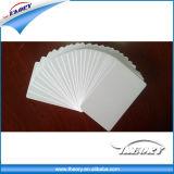 Cartão de PVC em branco de plástico para impressão aluno cartão Employee ID AMD
