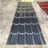 Water-Proof Fire-Proof y hoja de techo de Pet utilizado en la construcción de la construcción de acero