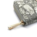 Серый бумажник женщин способа печатание