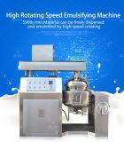 Leite eficiente e pasta que homogeneizam fazendo a máquina para a emulsificação do alimento
