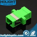 Sc/APC de Optische Adapter van de Vezel met het Type van Flens