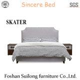 Moderne amerikanische Art-Gewebe-Bett-Schlafzimmer-Möbel Sk12