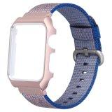2017 최고 판매 Iwatch 22mm 나일론 시계 결박을%s 파란 시계 결박