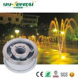 Lumière imperméable à l'eau de fontaines de 6W DEL avec Ce/Rohs