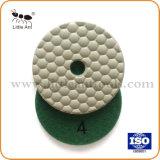 3 pouces Meuleuse portative Meule abrasive Pad Utiliser le ponçage à sec Tampon à polir Ddiamond