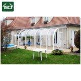 Ot vente haut de gamme pour profilé en aluminium recouvert de poudre d'auvent, patio et couvercle de toit