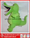 Jouet mou vert bon marché bourré en gros de crocodile