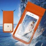 PU-wasserdichter Mobiltelefon-Beutel, wasserdichter allgemeinhinbeutel für Schwimmen