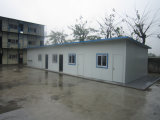 Het beweegbare Geprefabriceerde Modulaire Huis van het Huis van de Container voor Pakhuis