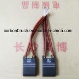 CE7 Electro grafite para escovas de carvão do motor de tracção locomotor