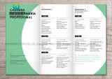 A6 Impresión personalizada Introducción Folleto de Muestras promocionales